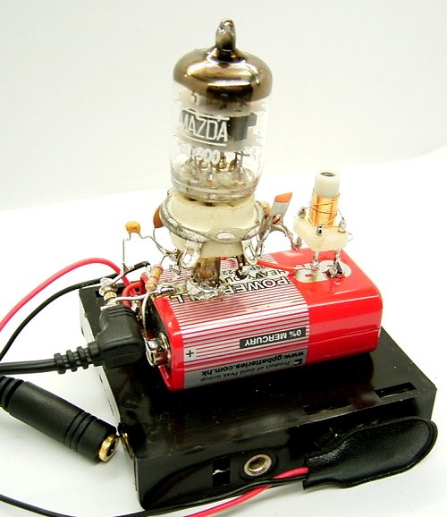 Ламповый SDR-приёмник
